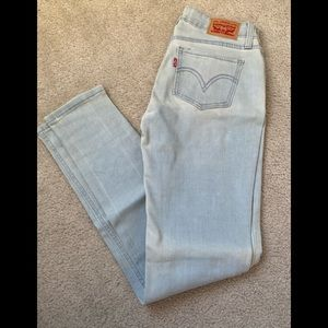 Brand New levis super skinny jeans (size 28)